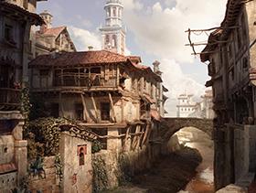 Old-Buildings-on-the-Darro,Granada